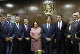 João Azevêdo discute com Eunício Oliveira e Rodrigo Maia projetos que fortalecem economia dos Estados