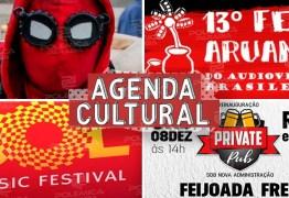 AGENDA CULTURAL: confira os principais eventos que agitam esse fim de semana em João Pessoa