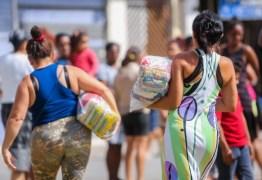 Vaza áudio de suposto aliado de Vítor Hugo confirmando troca de cestas básicas por presença em protestos na Câmara; ouça