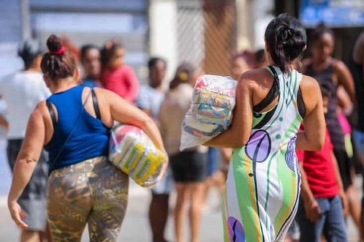 CestaBAsica 300x200 - Vaza áudio de suposto aliado de Vítor Hugo confirmando troca de cestas básicas por presença em protestos na Câmara; ouça