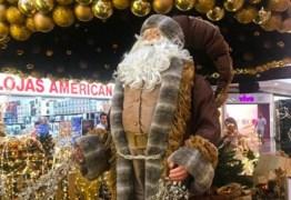 VERMELHO NÃO: Shopping muda cor da tradicional roupa do Papai Noel