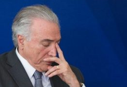 APÓS VOTAÇÃO DE MAGISTRADOS: Justiça Federal determina que Michel Temer volte para a prisão