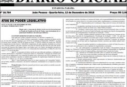 Diário Oficial anuncia mudanças em comandos da Polícia Militar