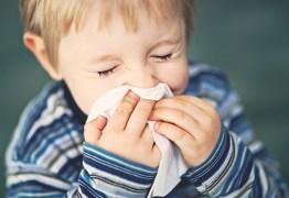 Alerta: 40% das crianças possuem alergias respiratórias e médico aponta causas para aumento das doenças