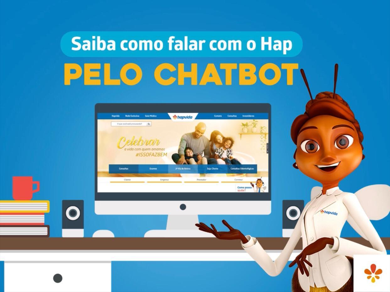 hapvida hap chatbot - Hapvida lança ferramenta que permite marcação de consultas pelo Facebook