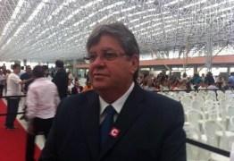 João vai a Brasília nesta quarta para discutir políticas de segurança pública em Fórum de Governadores