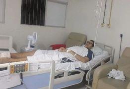 GiGANTE PARAIBANO: Ninão está internado em hospital de Campina Grande e pede ajuda