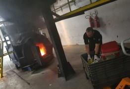 Polícia Federal queima 15 toneladas de drogas apreendidas no RN