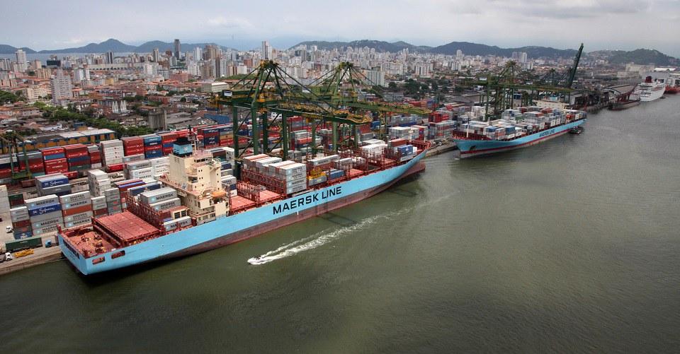 Porto de Santos movimenta 110 milhões de toneladas de carga em 2018