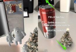 VEJA VÍDEO: Coca Cola lança aplicativo de realidade aumentada para comemorar o natal