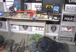 Polícia prende suspeitos de arrombar agência bancária em Campina Grande