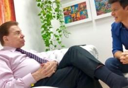 VEJA VÍDEO: Silvio Santos aprova Rodrigo Faro como intérprete dele: 'Foi bem escolhido'