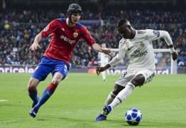 Vinicius Junior fica em quinto na lista dos melhores jovens do futebol europeu