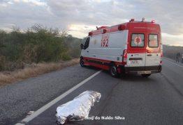 Homem morre ao cair de caminhonete na BR-230, em Pombal