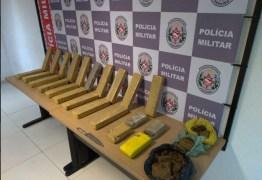 PM desarticula ponto de apoio ao tráfico e apreende mais de 20 quilos de drogas