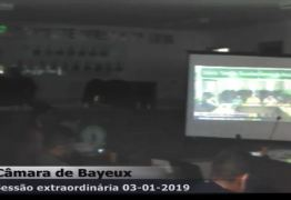 AO VIVO: Câmara de Bayeux julga processo de cassação de Berg Lima