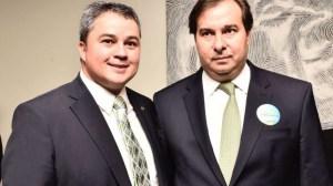 EFRAIM E RODRIGO MAIA 300x168 - CONFIRMADO: Rodrigo Maia se reúne com bancada federal da PB na segunda-feira, em JP