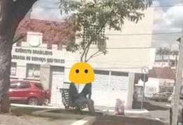 Em Guarabira, casal é flagrado em cenas de sexo próximo a catedral e MP
