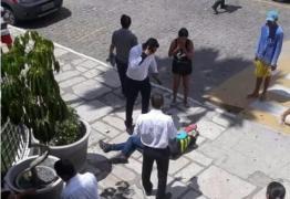 VEJA VÍDEO: Câmera mostra momento de ataque a mototaxista em CG