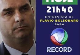 Flávio Bolsonaro falará à Record nesta Sexta-feira