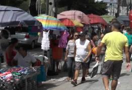 MPPB recomenda retirada de ambulantes nas calçadas do Centro de João Pessoa