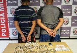 Homens são detidos suspeitos de tráfico de drogas em Mangabeira