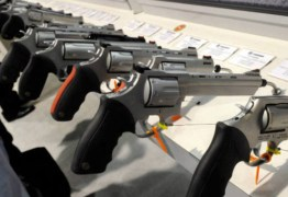 Menor preço de arma de fogo pode ser encontrado a R$ 1.500, na Paraíba