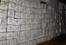 Polícia prende três homens e apreende quase R$ 1 milhão em material de contrabando no Sertão da Paraíba