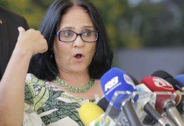 Pelo Twitter, ministra Damares decreta o fim da pedofilia no Brasil