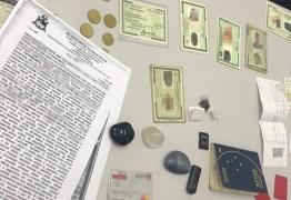 Casal é preso tentando transferir R$ 1 milhão usando documentos falsos em agência do Banco do Brasil, em Cabedelo