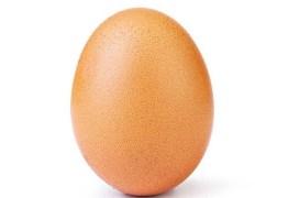 Foto de ovo supera a de Kylie Jenner como a mais curtida no Instagram