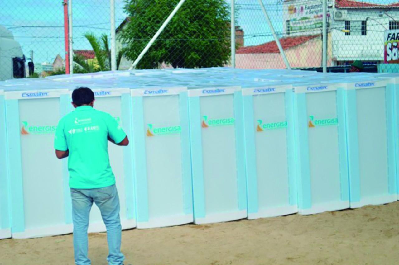 energisa geladeira - Projeto Nossa Energia troca geladeiras de 100 famílias de Monteiro nesta quarta