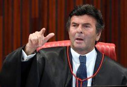 Fux rejeita ação que barra candidatura de réus à presidência do Senado
