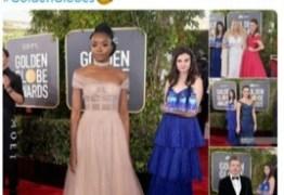 'Garota da água' rouba a cena no tapete vermelho do Globo de Ouro 2019 e se diverte com fama