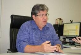 """""""Cabe à Assembleia decidir seu próprio destino"""" diz João Azevêdo sobre eleição na ALPB"""