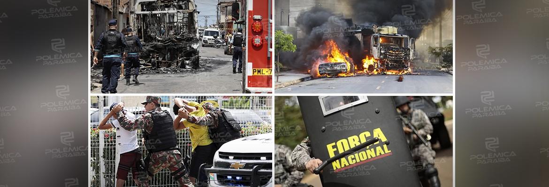 montagem352 - ESTADO DE SÍTIO  – Atentados desafiam forças de segurança no Ceará! - Por Francisco Airton