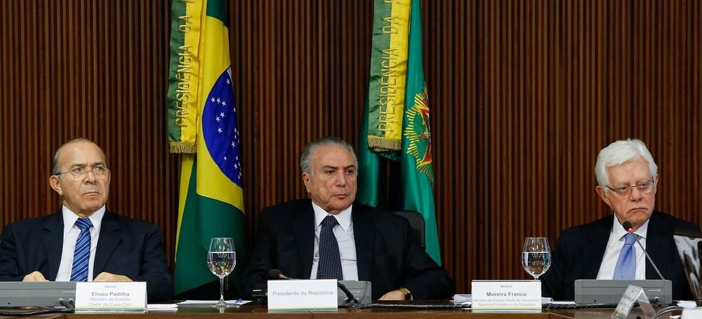 R$ 14 MILHÕES DA ODEBRECHT: PGR quer investigação conjunta de Temer, Padilha e Moreira