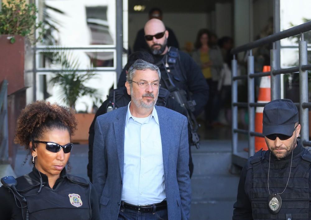 palocci - OPERAÇÃO GREENFIELD: Palocci chega a Brasília para depor sobre fundos de pensão