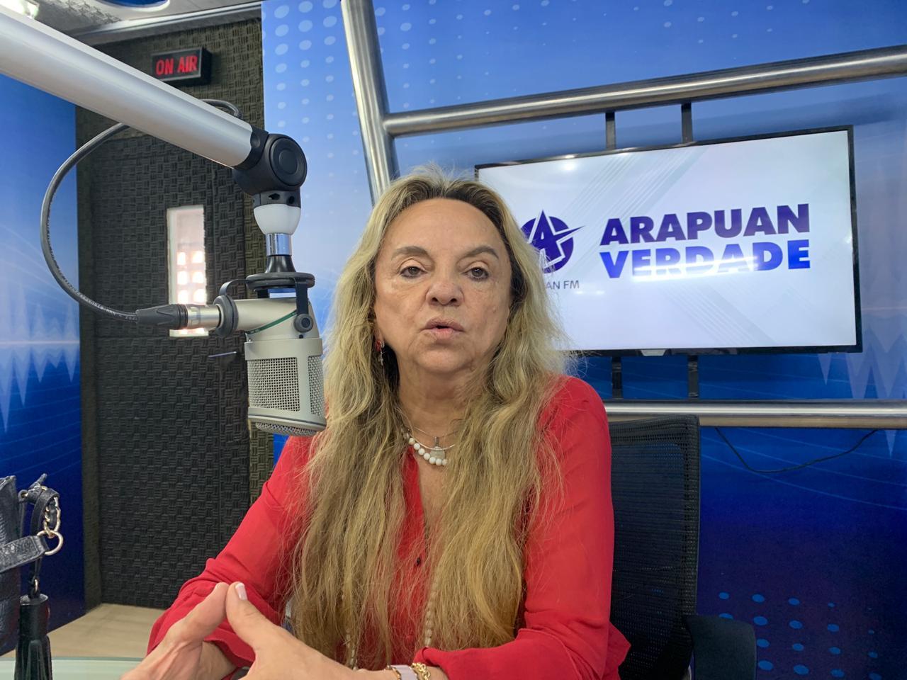 paula francinete deputada - DECIDIDA: Paula Francinete afirma que disputará prefeitura de S. José de Piranhas em 2020