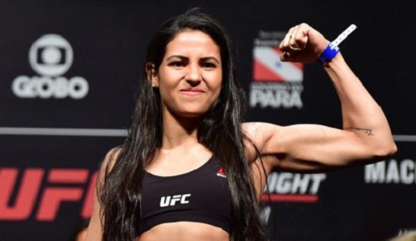 polyana viana lutadora ufc - Lutadora do UFC reage a assalto e nocauteia ladrão