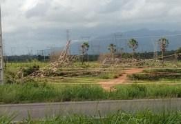 Criminosos destroem torre de transmissão e atacam concessionária no 11º dia de onda de violência no Ceará