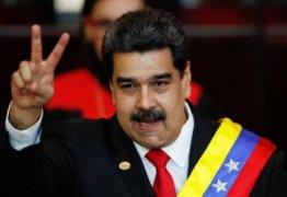 Cada vez mais isolado, Maduro assume segundo mandato e chama Bolsonaro de 'fascista'