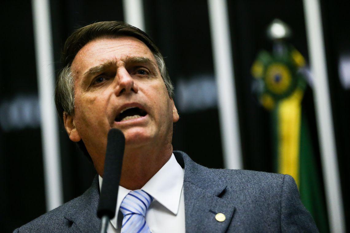 1064001 1 02.02.2017 mcamg 9890 1 - 'Hoje bato o martelo', diz Bolsonaro sobre reforma da Previdência