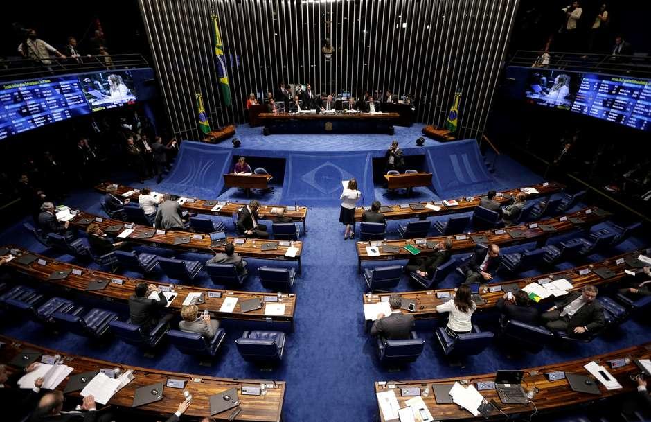 2019 02 01T215616Z 1 LYNXNPEF104GZ RTROPTP 4 BRAZIL POLITICS - Rodrigo Maia é eleito pela 3ª vez presidente da Câmara dos Deputados