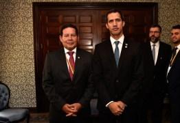 Guaidó chega a Brasília para encontro com Bolsonaro; Mourão fala em guerra civil na Venezuela