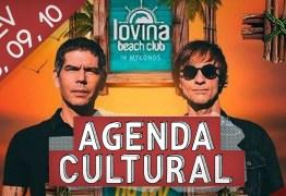AGENDA CULTURAL: Confira o que rola no fim de semana da capital