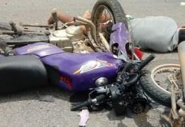 ACIDENTE: Um morre e outro fica ferido na saída de Sousa para Lastro e Uiraúna