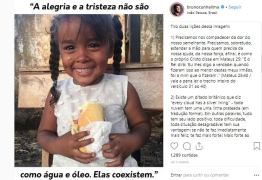 'TRISTEZA E ALEGRIA COEXISTEM': ex-deputado repercute imagem de criança venezuelana que sorrir e chora ao receber pão de brasileiros