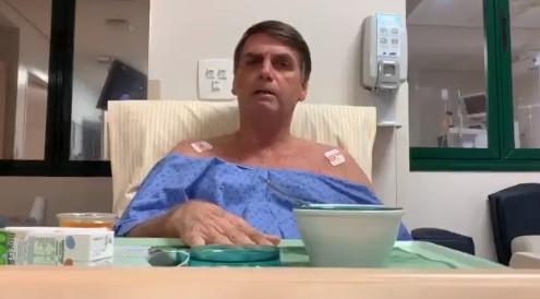 Bolsonaro 10 de fevereiro - Bolsonaro apresenta melhora significativa, diz boletim médico