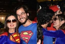 Fátima Bernardes e Túlio Gadêlha curtem festas de pré-carnaval em Recife